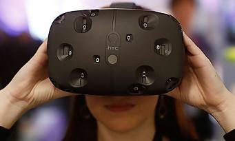 Réalité virtuelle : le casque HTC Vive sera à Paris Games Week 2015