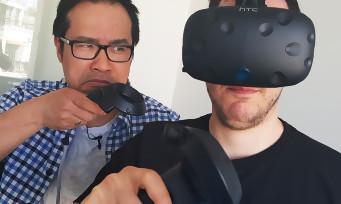 HTC Vive : notre unboxing du casque de Réalité Virtuelle à 900€ !