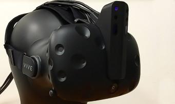 HTC Vive : Intel dévoile une caméra 3D qui améliore le tracking en profondeur