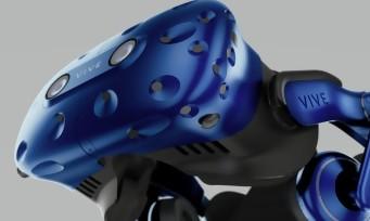 HTC dévoile un nouveau casque VR, le Vive Pro, mais aussi un adaptateur sans-fil