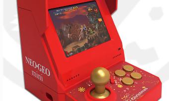 NEOGEO Mini : SNK va sortir une édition Noël avec 48 jeux, certains étant inédits