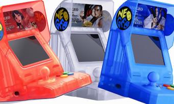 NeoGeo Mini : les 3 modèles Samurai Shodown arrivent en Europe, voici le prix et la date de sortie