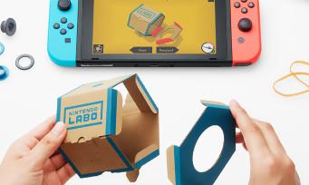 """Nintendo Labo : construction + motion gaming, la nouvelle invention """"en carton"""" de la Switch"""