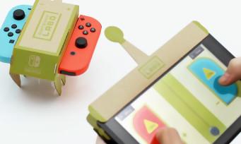 Nintendo Labo : une vidéo de 3 min pour présenter l'Atelier Toy-Con