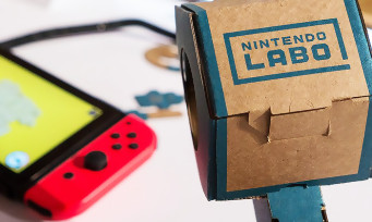 Nintendo Labo : Nintendo explique pourquoi il a choisi le carton comme matériau