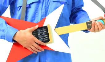 Nintendo Labo : une nouvelle vidéo qui montre comment fabriquer sa propre guitare