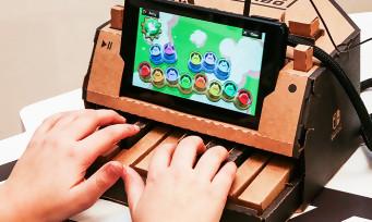Nintendo Labo : une nouvelle publicité où ça plie du carton dans tous les sens