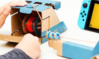 Nintendo Labo : les kits de remplacement sont en vente au Japon