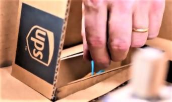 Nintendo Labo : UPS dévoile son Toy-Con-tainer, une valise en carton imaginée par ses soins