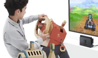 Nintendo Labo : un troisième kit dédié aux véhicules se présente en vidéo