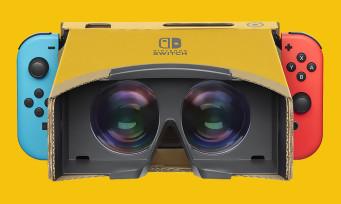 Switch : la réalité virtuelle débarque sur la console grâce à Nintendo Labo, voici les prix
