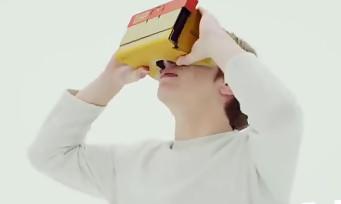 Nintendo Labo : le VR Kit présenté sous toutes ses coutures dans un gros trailer