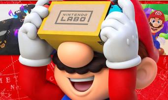 Nintendo Labo : des images de Super Mario Odyssey VR, quelques infos en plus