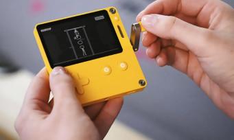 Playdate : une nouvelle console portable arrive, et il y a une manivelle dessus !