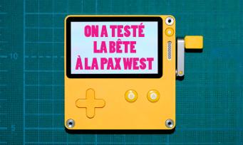 Playdate : on a joué à la console portable jaune, nos impressions manivelle en main !