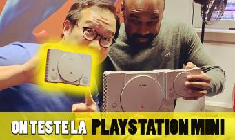 PlayStation Classic Mini : on vous présente la console de Sony, son interface et ses 20 jeux