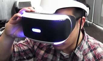 PlayStation VR : on teste le confort du casque de Sony et on vous explique les branchements