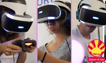 PlayStation VR : voici ce que les visiteurs de Japan Expo pensent du casque de Sony