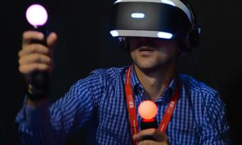 PlayStation VR : une meilleure reconnaissance de mouvements pour bientôt ?