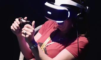 PlayStation VR : le casque de Sony présenté en détails dans un nouveau trailer