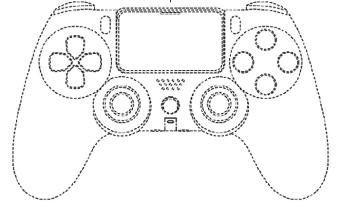 PS5 : des images de la DualShock 5 apparaissent dans un brevet déposé par Sony
