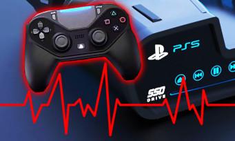 PS5 : une manette capable de capter l'humidité de la peau et le rythme cardiaque ?