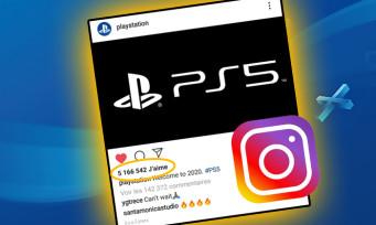 Le logo PS5 est le post gaming le plus liké de l'histoire d'Instagram, Sony déjà en pole-position