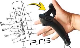 PS5 : Sony préparerait-il ses propres manettes à la Valve Index ? Un brevet sème le doute