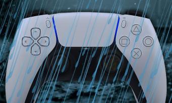 PS5 : la pluie sera ressentie précisément grâce aux vibrations haptiques de la manette !