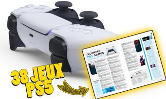PS5 : le PlayStation Magazine aurait dévoilé 38 jeux à venir, voici la liste