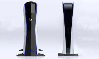PS5 : ZOTAC compare le design de la console à celui du MEK1, il y a une petite ressemblance de face