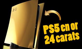 PS5 : le modèle en or 24 carats bientôt disponible en précommande, le prix est démentiel