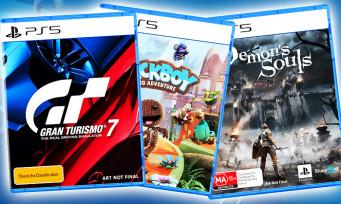 PS5 : Gran Turismo 7, Demon's Souls, Sackboy, découvrez les jaquettes des probables jeux du line-up