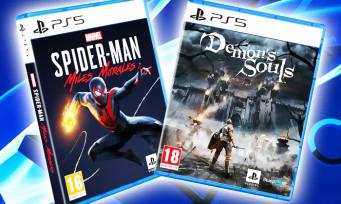 PS5 : voici les poids de Spider-Man Miles Morales et Demon's Souls, des jeux vraiment gourmands ?
