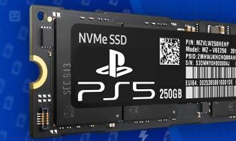 PS5 : le SSD magique de la console n'offrirait pas autant d'espace que prévu