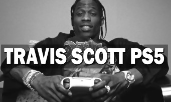 PS5: Sony is paying Travis Scott for its new advertising, it is quite hair-raising!