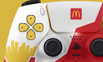 McDonald's voulait lancer une manette PS5 très laide, mais Sony a mis son véto direct