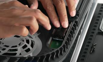PS5 : une mise à jour importante pour le stockage (SSD), l'audio et l'interface de la console