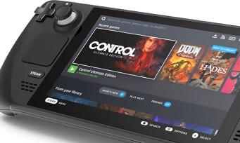 Steam Deck : Valve dévoile sa console portable, une machine inesthétique et chère mais puissante !