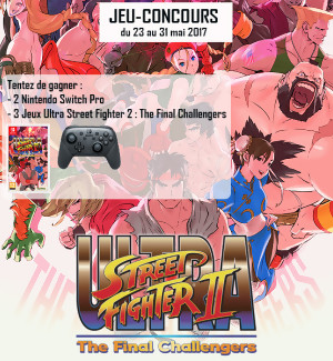 Jeu-concours Ultra Street Fighter 2 : The Final Challengers