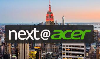 ACER : on teste tous les nouveaux PC gamer et accessoires de 2018 depuis New York !