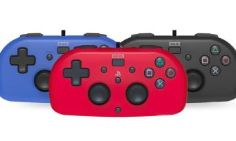 """HORI Mini Wired Gamepad : la manette PS4 """"façon Joy-Con"""" est disponible en France"""