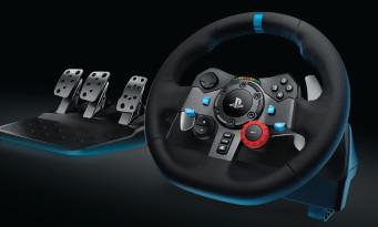 PS4 / Xbox One : Logitech annonce un nouveau volant haut de gamme