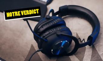 Test Logitech Pro X : un casque gaming aussi simple qu'efficace