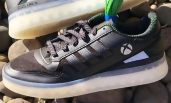 Microsoft et Adidas main dans la main pour des sneakers Xbox, une photo a fuité