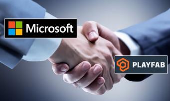 Microsoft rachète PlayFab, une société spécialisée dans le cloud gaming