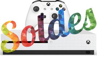 Microsoft : la Xbox One S, plein de jeux et des accessoires à prix réduit