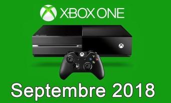 Xbox One / Xbox 360 : voici la liste des jeux gratuits pour septembre 2018, ce n'est pas dingue