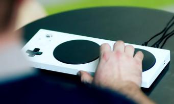 Microsoft : la manette adaptative Xbox pour handicapés est disponible en France