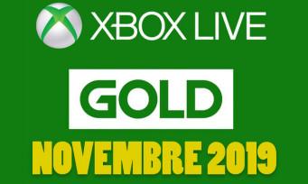 Xbox Live : les jeux gratuits pour novembre 2019 sont connus, un trailer pour les présenter